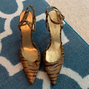 Guess Strappy Stilletos Size 8M